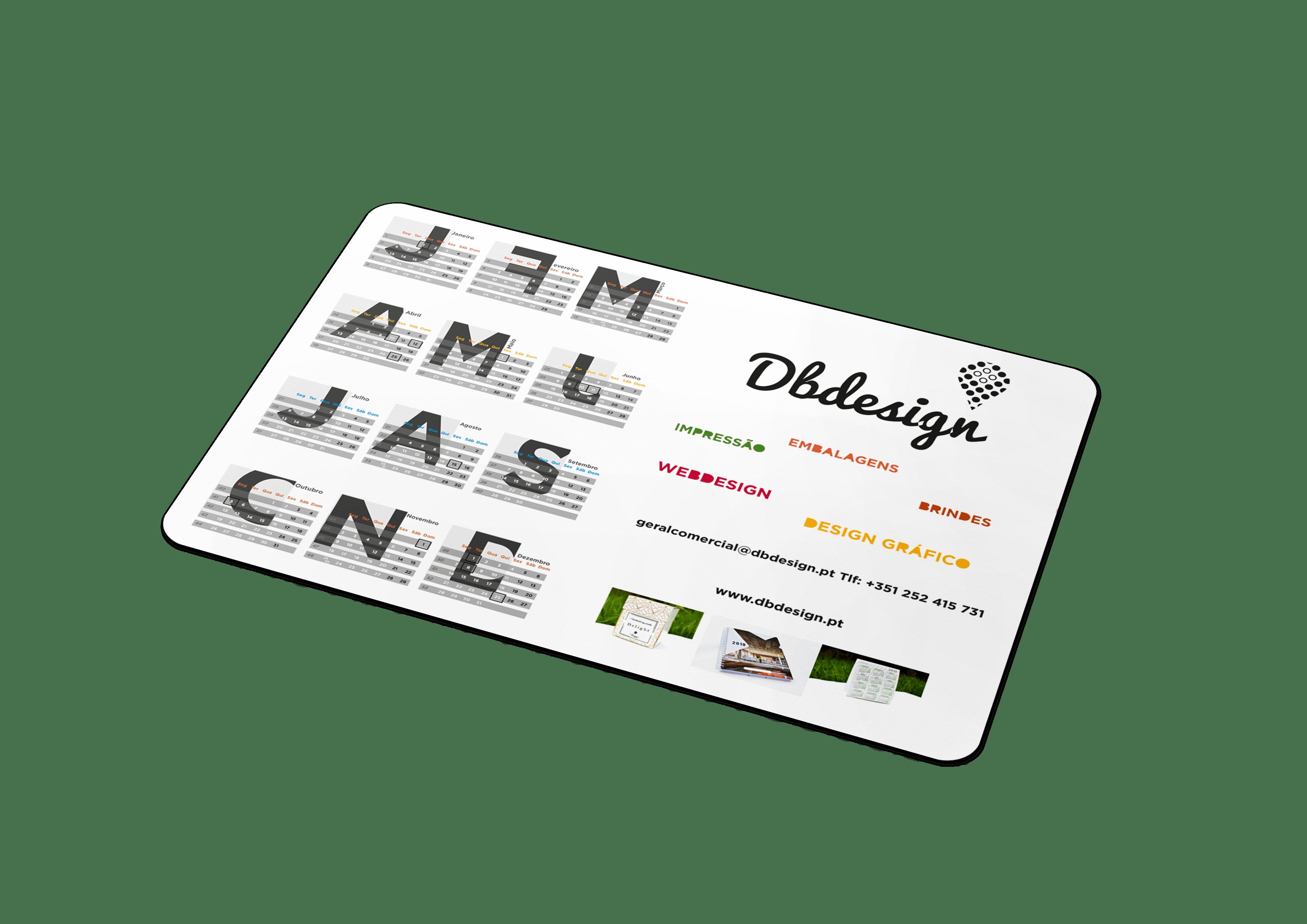 calendario base rato dbdesign