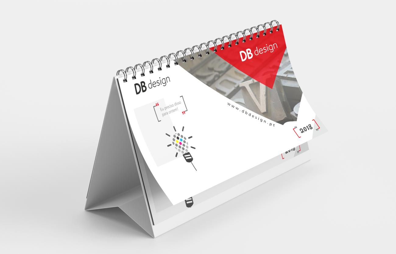 Calendários Db design