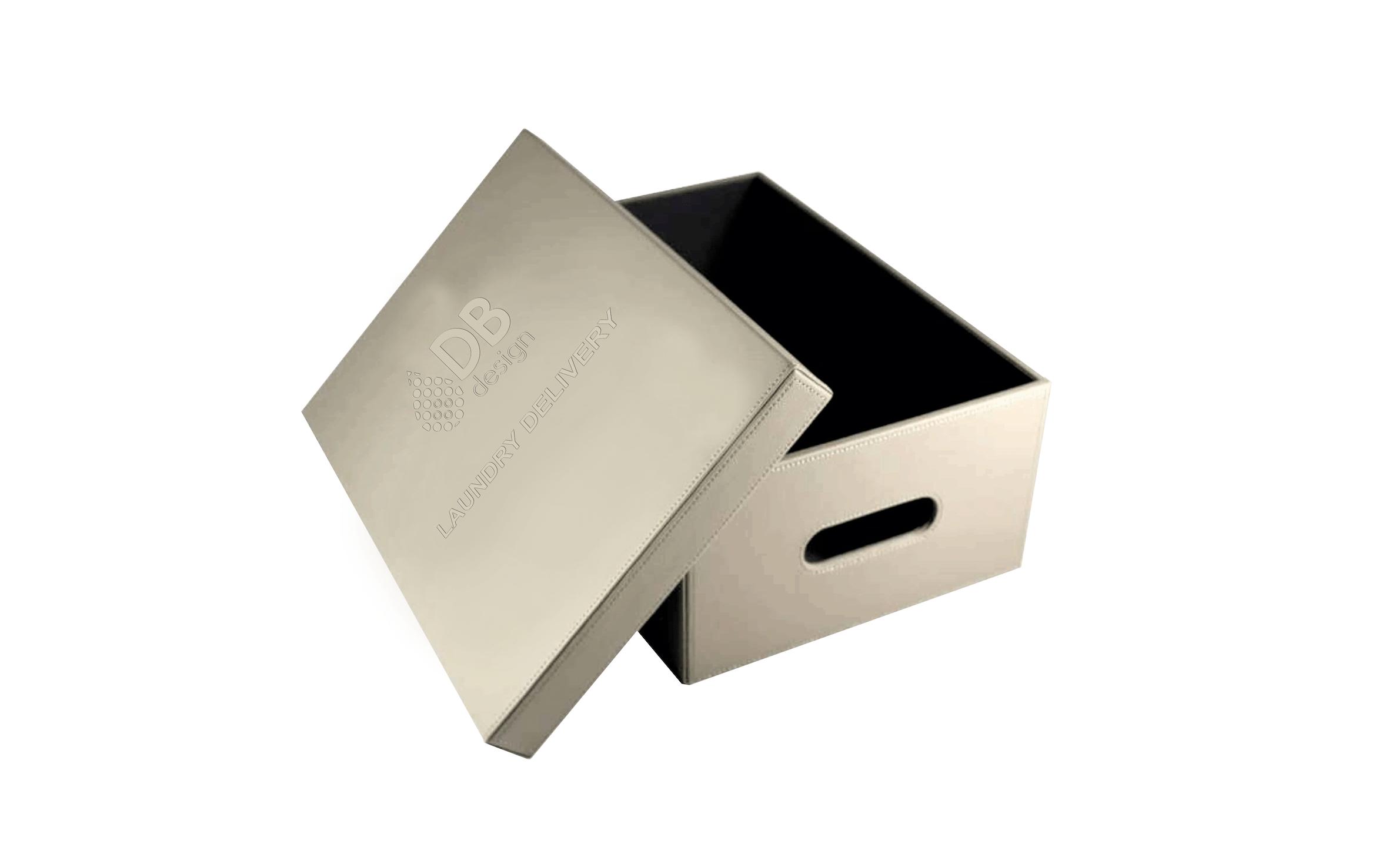 caixa transporte sapatos napa