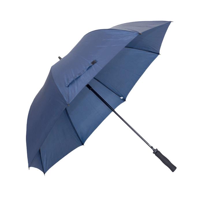 Guarda-chuva de abertura automática. 8 varas fibra carbono. Cabo reto esponja (EVA). Ø 1,38m