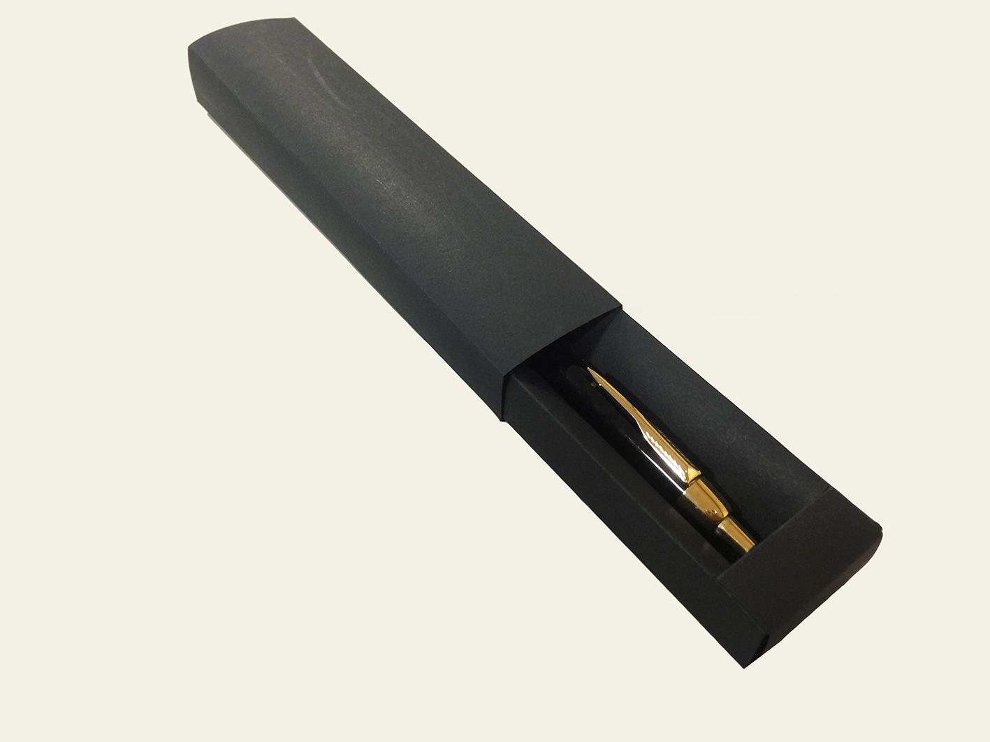 caneta com caixa personalizada