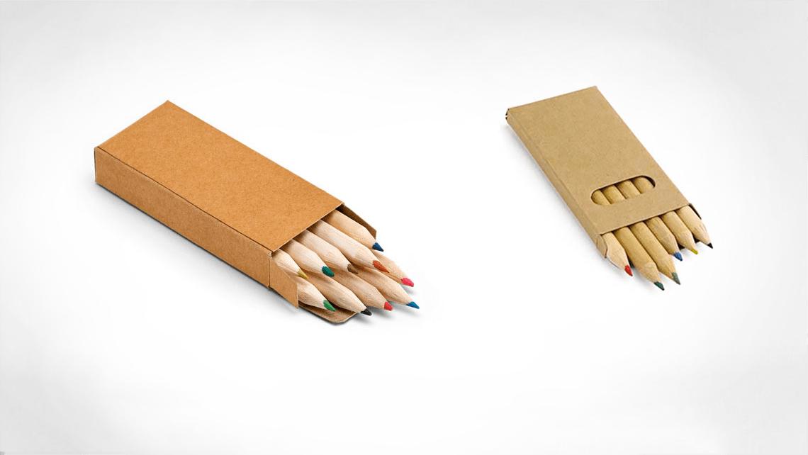 caixa pequena para lápis
