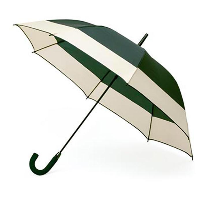 Guarda-chuva bicolor. Poliéster. Automático. Pega em EVA. Ø 112 cm