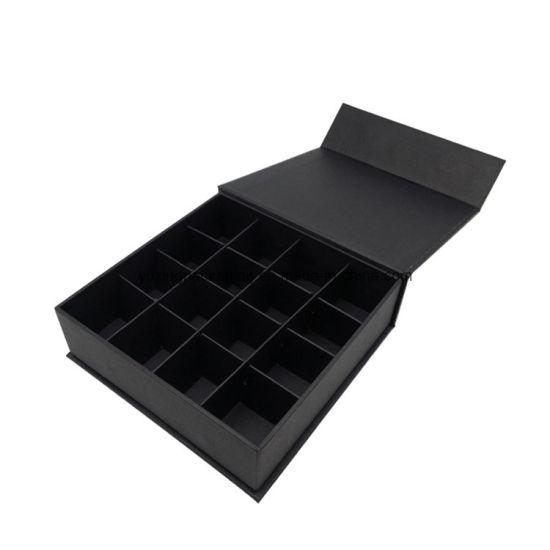 caixa com tampa magnetica e divisoes