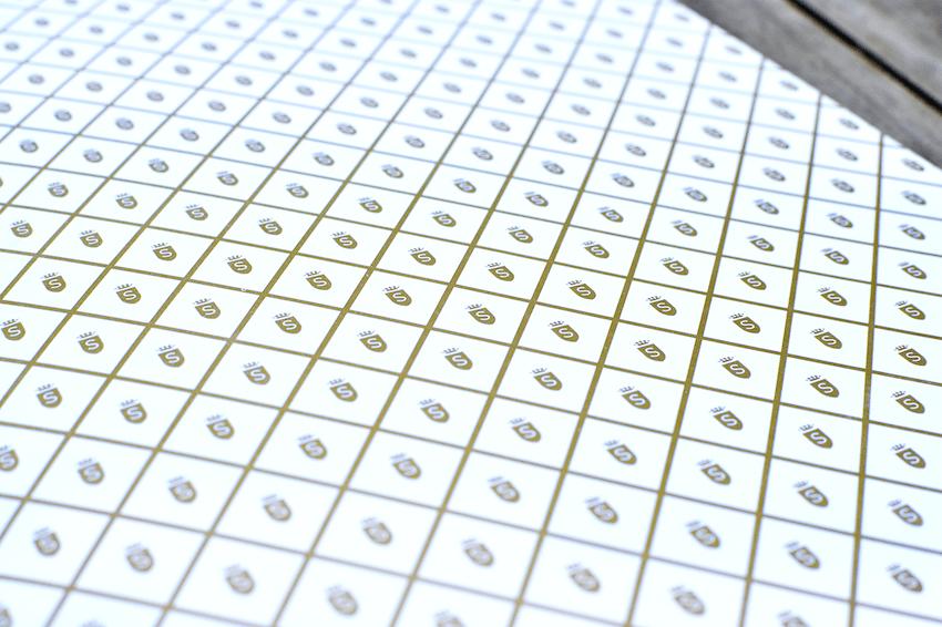 Impresso ouro Savoy