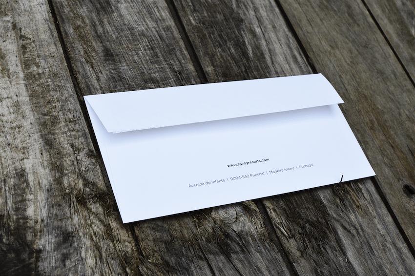 Envelope Savoy