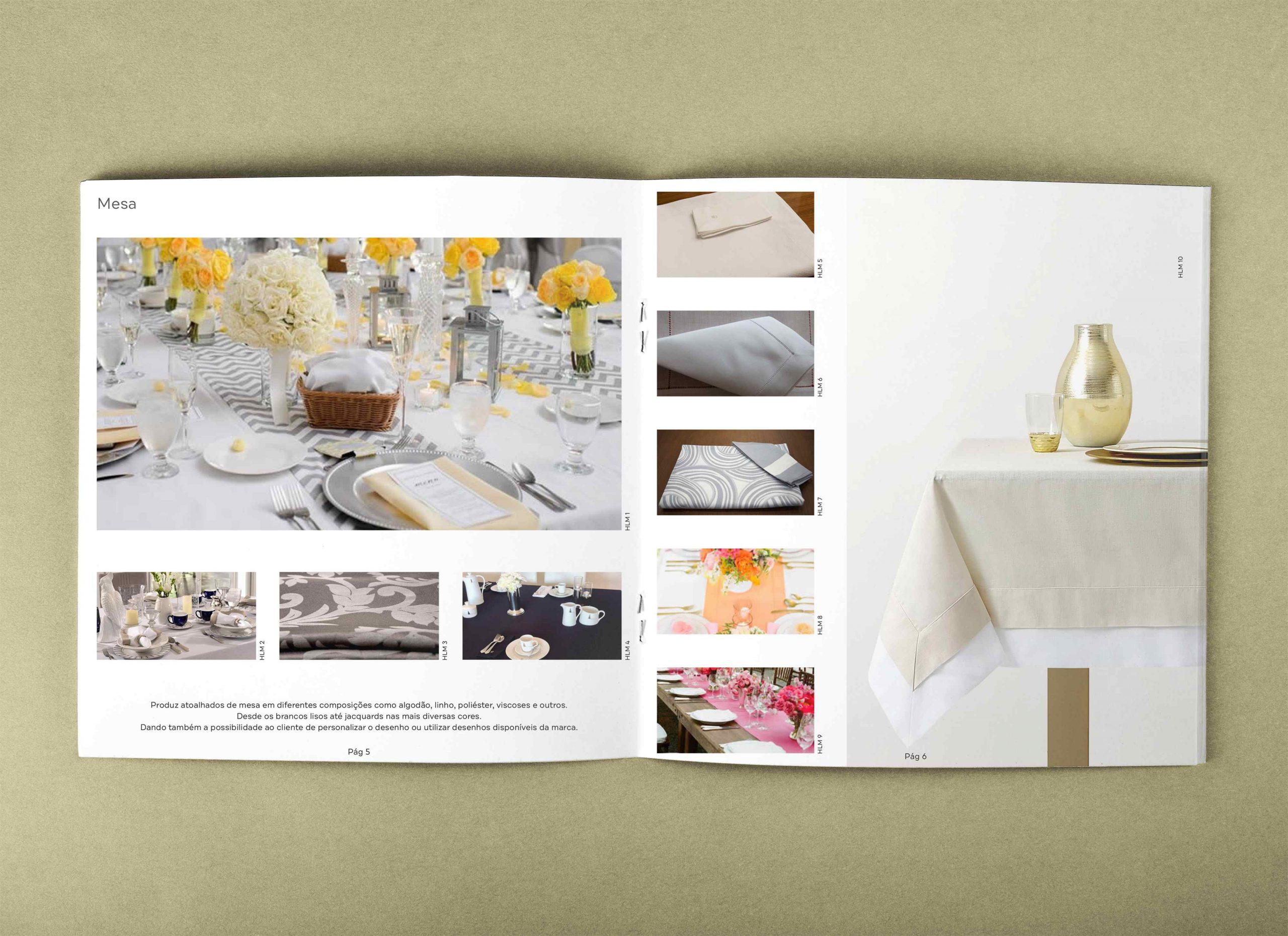 design e impressao catalogo