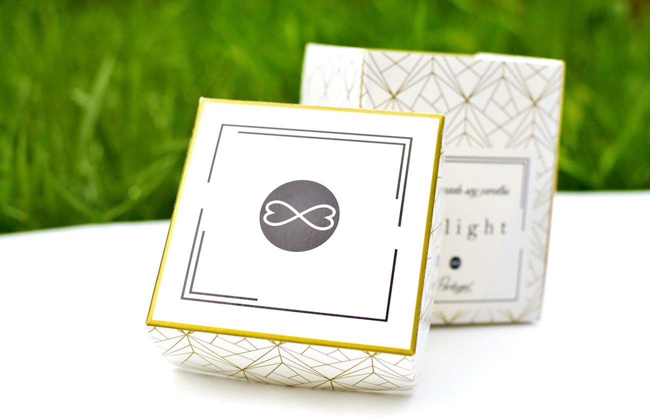 caixa impressão ouro