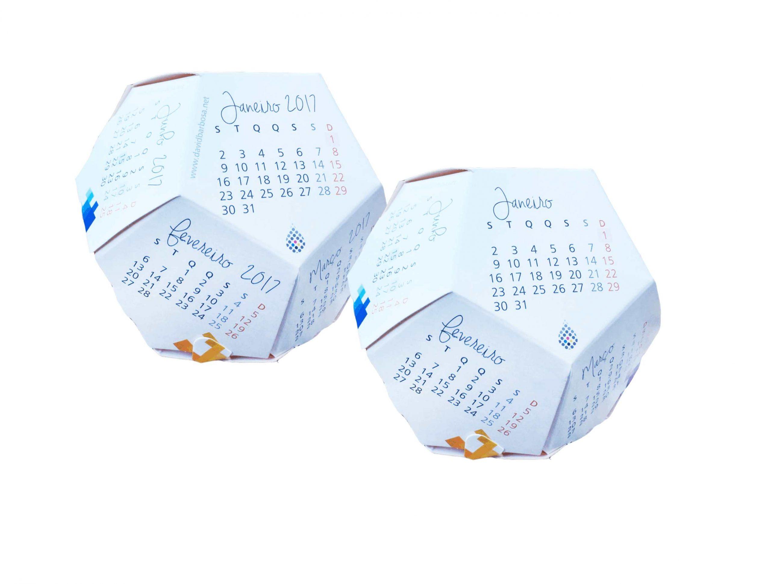 calendario 3d porto